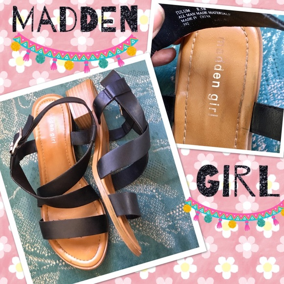04313430d97 Steve Madden/Madden Girl Tulum Stack Heel Sandals
